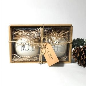 Rae Dunn Peace & Noel Ceramic Christmas